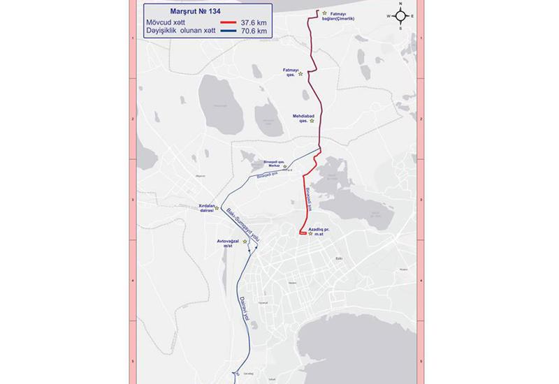 """В Баку изменен маршрут еще одного автобуса <span class=""""color_red"""">- ПОДРОБНОСТИ</span>"""