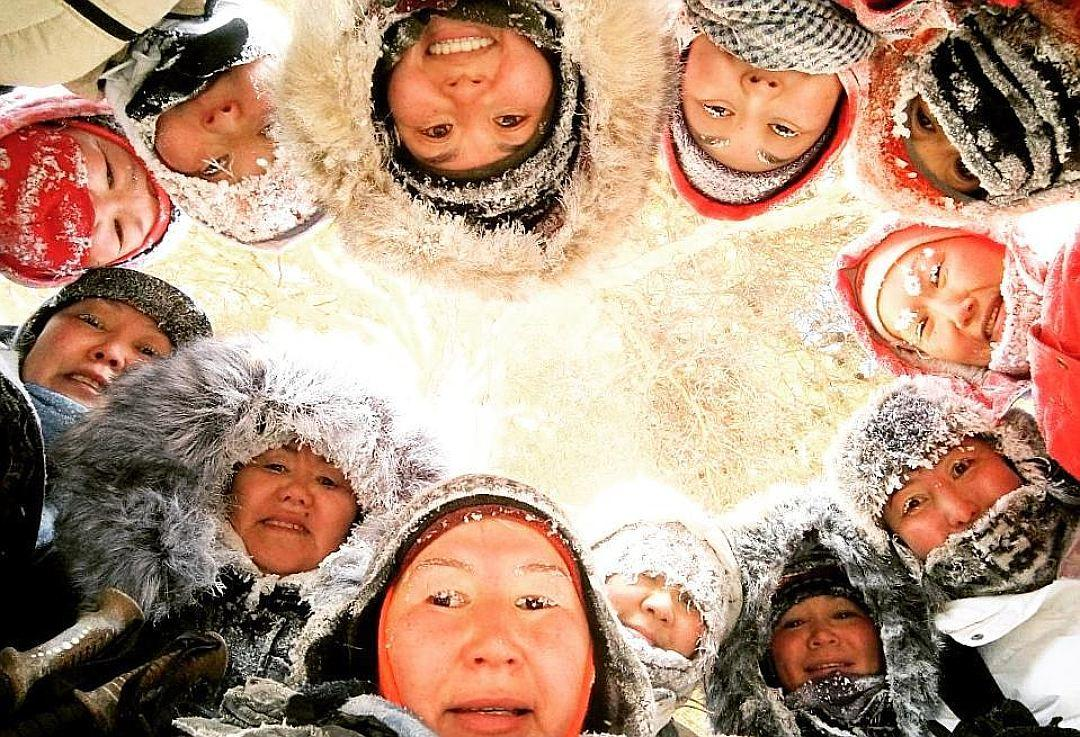 Мороз не помеха для пеших прогулок и красивых фотографий. Фото: Социальные сети