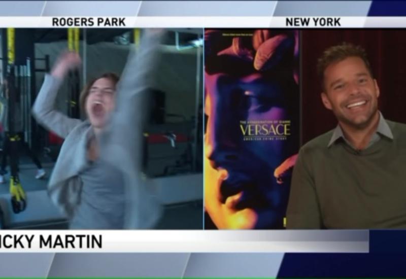 "Журналистка расплакалась после интервью с Рики Мартином <span class=""color_red"">- ВИДЕО</span>"