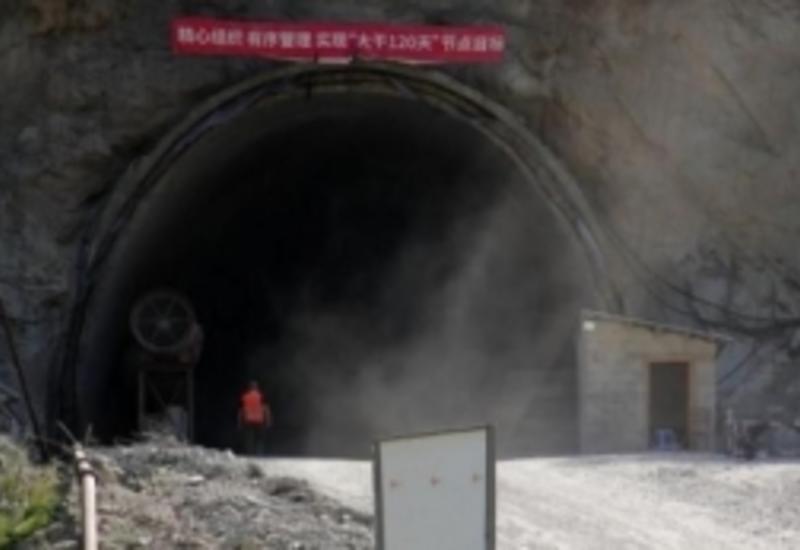 Взрыв в ж/д тоннеле в Грузии, есть пострадавшие