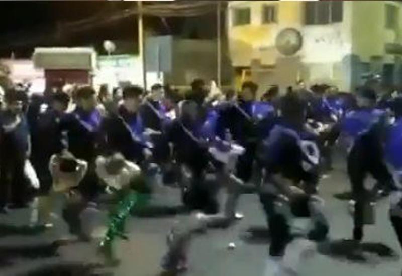 """Танцоры в Чили, ощутив подземные толчки, разбежались в панике <span class=""""color_red"""">- ВИДЕО</span>"""