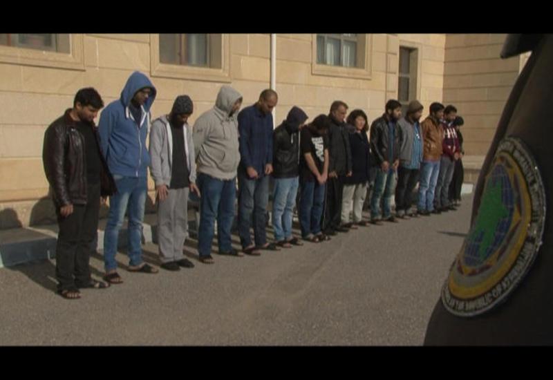 В Азербайджане задержаны иностранцы, создавшие незаконный канал миграции