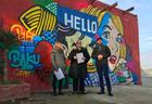 """Стены галереи в Баку стали холстом для художников из Швейцарии и Великобритании <span class=""""color_red"""">- ФОТО</span>"""