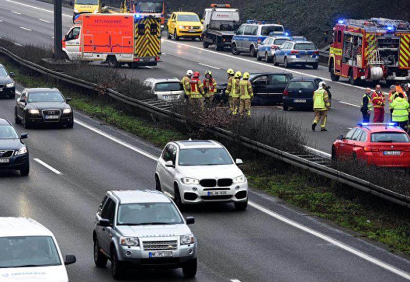 Массовое ДТП в Германии: пострадали около 20 человек