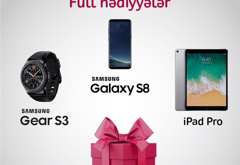 Присоединяйся к пакету Full и стань обладателем Samsung Galaxy S8 или iPad Pro от Nar