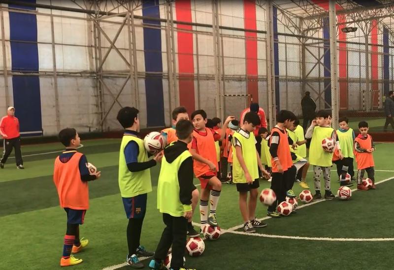 Футбольная школа Azfar провела очередные Дни открытых дверей