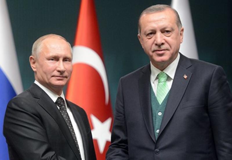 Путин и Эрдоган обсудили операцию Турции в Африне