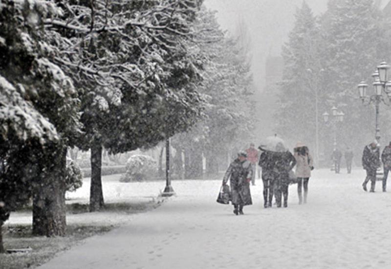 В Азербайджане резко похолодает, дороги покроются льдом