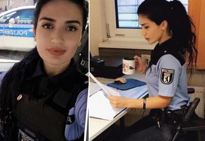 "Красавица-азербайджанка стала комиссаром полиции в Берлине <span class=""color_red"">- ФОТО</span>"