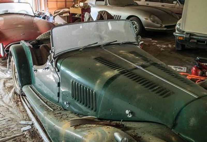 В заброшенном гараже нашли старые спорткары стоимостью $4 млн.