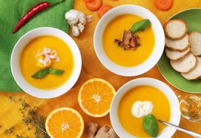 Морковно-апельсиновый суп - Пошаговый рецепт