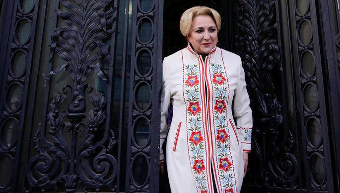 Главой руководства Румынии впервый раз стала женщина
