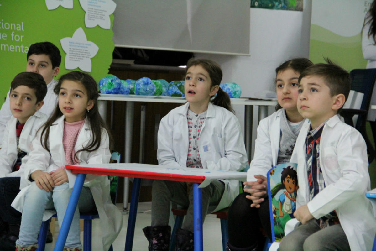 Состоялся очередной тренинг IDEA в рамках проекта «Эколаборатория для детей»