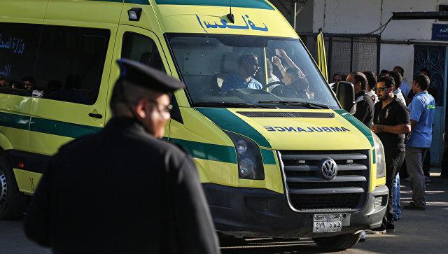ВЕгипте автобус столкнулся с фургоном: большое количество жертв ипострадавших