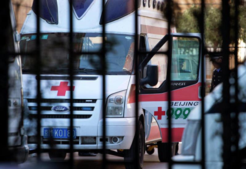 Китайская полиция о наезде фургона на людей в Шанхае