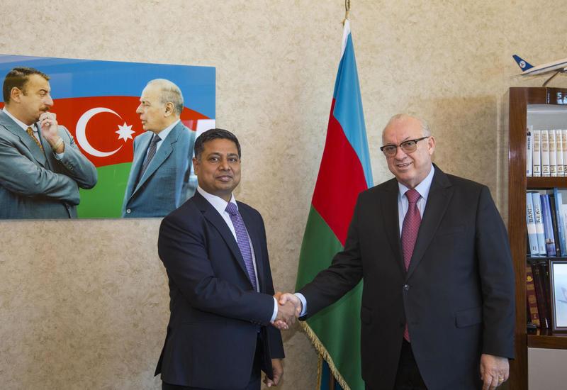 Азербайджан и Индия обсудили перспективы сотрудничества в области гражданской авиации