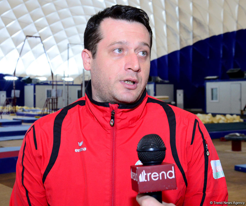 На Кубке мира FIG в Баку Азербайджан представят два гимнаста