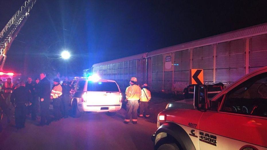 При столкновении поездов наюге США погибли двое, 50 человек пострадали