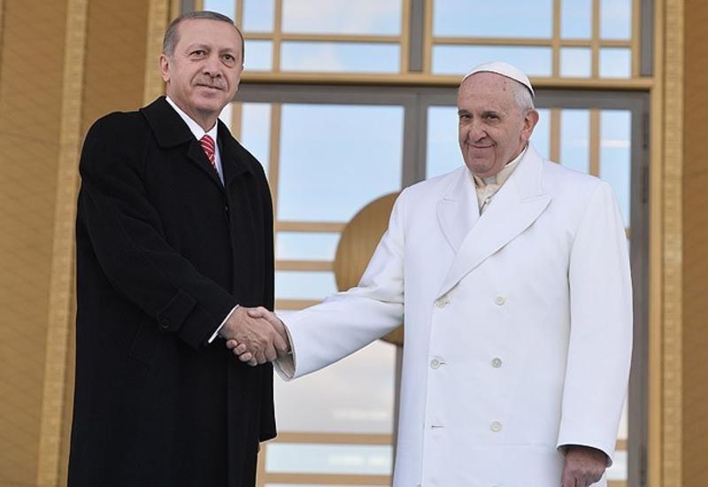 Папа Римский и Эрдоган выступили за сохранение статуса Иерусалима