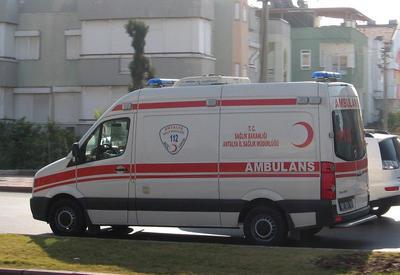 В Турции перевернулся автобус, есть пострадавшие