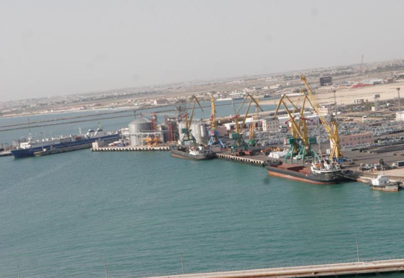 Когда завершится строительства крупнейшего морского торгового порта на Каспии?