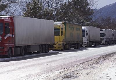 Военно-Грузинскую дорогу закрыли