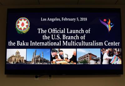 """Бакинский международный центр мультикультурализма открыл представительство в США <span class=""""color_red"""">- ФОТО</span>"""