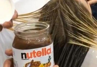 """Все едят Нутеллу, но даже и не догадываются, что её можно использовать и в покраске волос. И да, результат крутой <span class=""""color_red"""">- ФОТО</span>"""