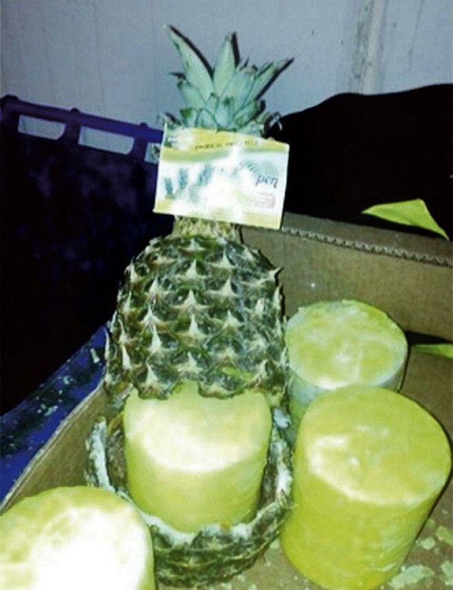 Двести килограмм героина в фруктах