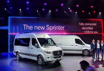 """Дизель V6 и автомат с 9 ступенями: Mercedes представил новый Sprinter <span class=""""color_red"""">- ФОТО</span>"""