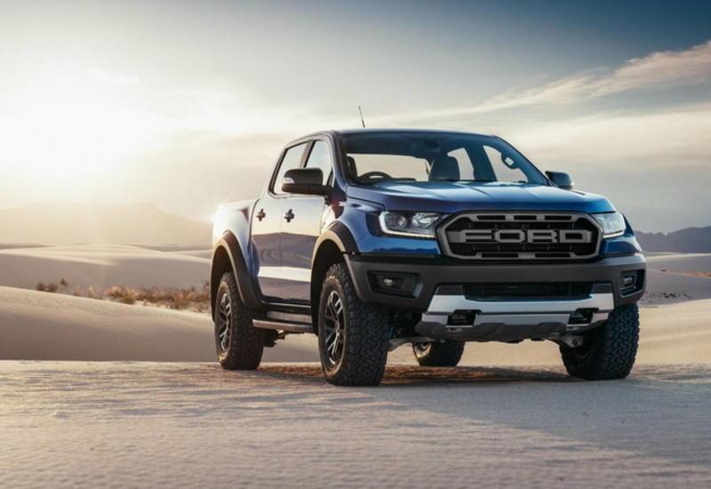 """Пикап Ford Ranger представлен в самой """"злой"""" версии"""
