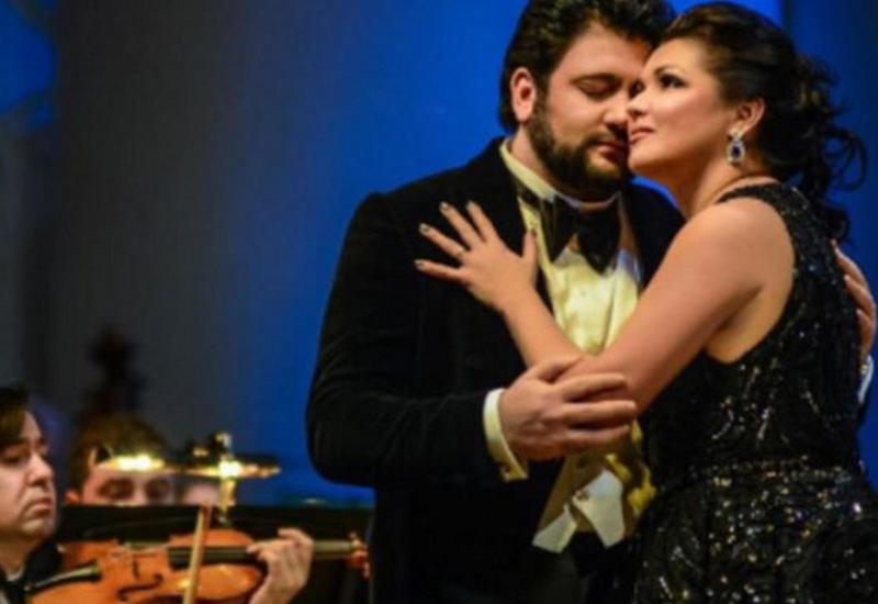 Анна Нетребко и Юсиф Эйвазов дали концерт в Большом театре России