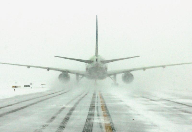 В пекинском аэропорту отменены рейсы
