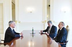 Президент Ильхам Алиев принял генерального исполнительного директора Формулы-1 - ФОТО