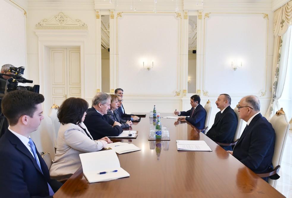 """Президент Ильхам Алиев: Заседание Консультативного совета """"Южного газового коридора"""" создает хорошую возможность для обсуждения предстоящих планов - ФОТО"""