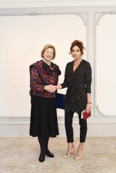 Первый вице-президент Мехрибан Алиева встретилась с торговым посланником премьер-министра Великобритании - ФОТО