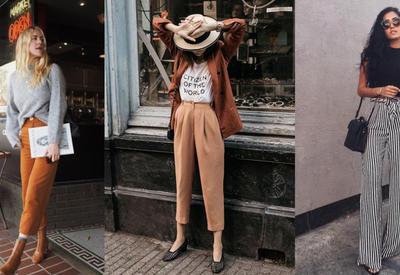 """С чем носить широкие штаны - Лучшие образы на каждый день <span class=""""color_red"""">- ФОТО</span>"""