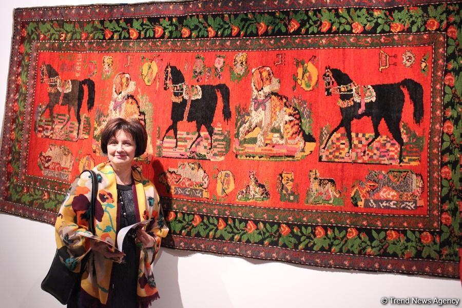 В Баку отметили Новый год по китайскому календарю ковровым искусством