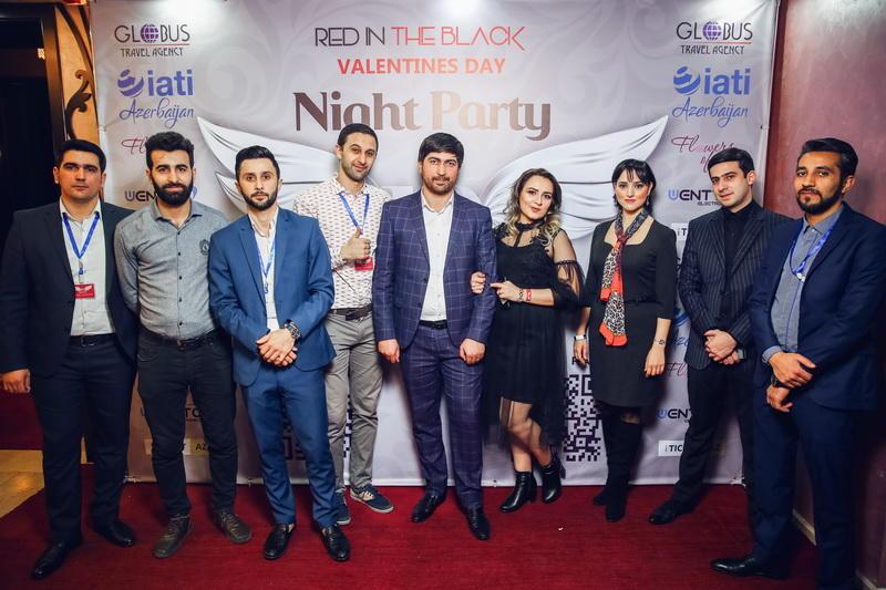 Зажигательная вечеринка в День влюбленных прошла в Баку - ФОТО