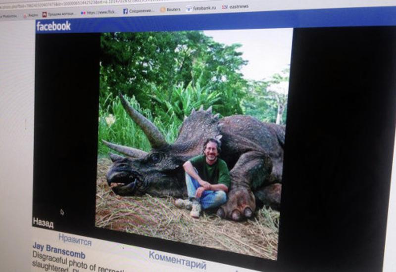 Спилберга в Facebook обвинили в убийстве вымершего динозавра