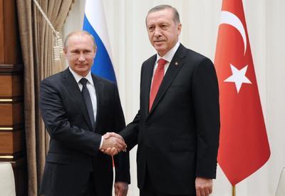 Эрдоган и Путин обсудили последние события в Сирии