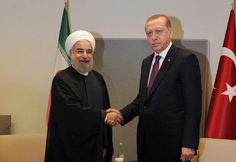 Эрдоган и Рухани обсудили ситуацию в Сирии