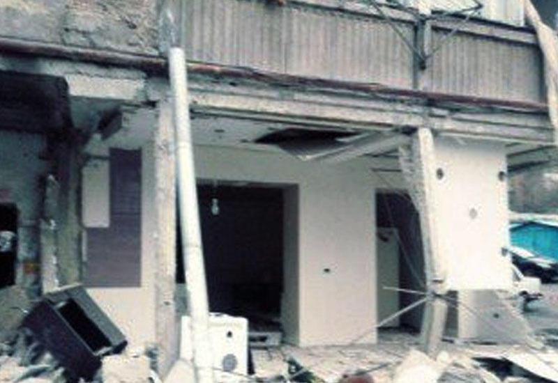 Yerevanda yaşayış binasında PARTLAYIŞ