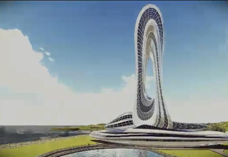 """В Баку будет построено высокотехнологичное 54-этажное здание <span class=""""color_red"""">- ВИДЕО</span>"""