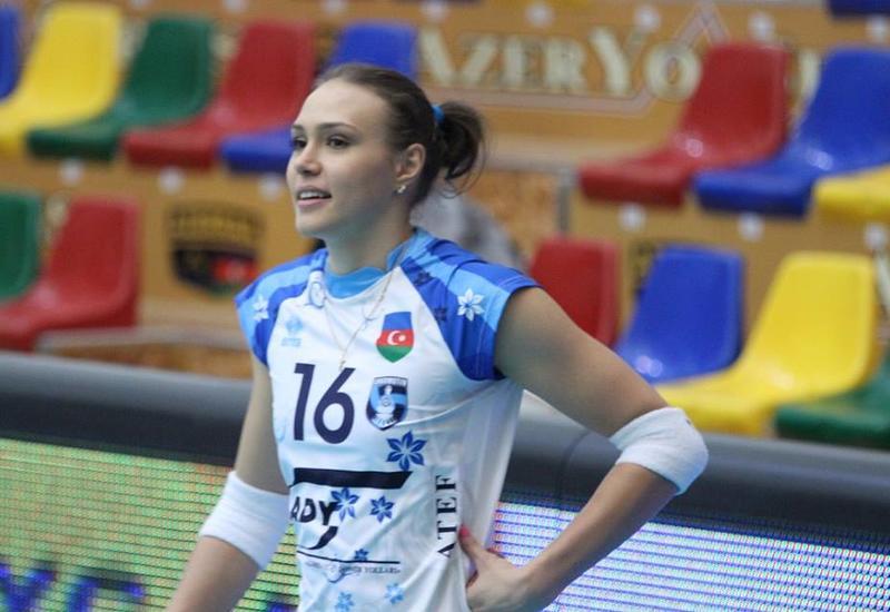 Азербайджанская волейболистка сменит фамилию
