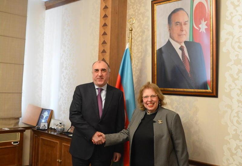 """Завершается дипломатическая миссия посла Египта в Азербайджане <span class=""""color_red"""">- ФОТО</span>"""