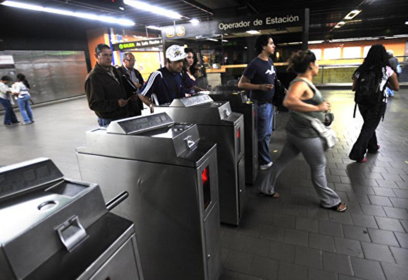 В метро столицы Венесуэлы взорвали гранату