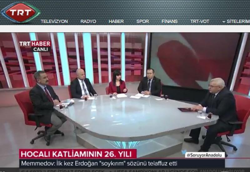 """TRT HABER: Xocalı soyqırımı heç vaxt unudulmayan bəşəri faciədir <span class=""""color_red"""">- FOTOLAR</span>"""