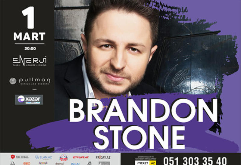 """Брендон Стоун приглашает всех на первый сольный концерт в Баку <span class=""""color_red"""">- ВИДЕО</span>"""