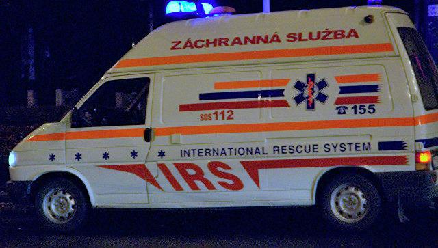 ВСловакии автомобиль въехал вгруппу детей